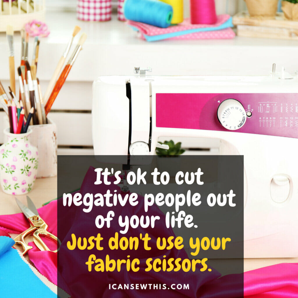 Just don't use your fabric scissors