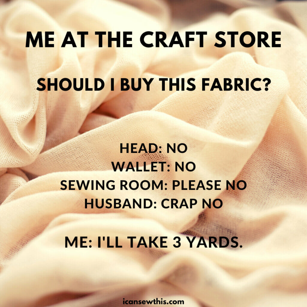 Me at the craft store