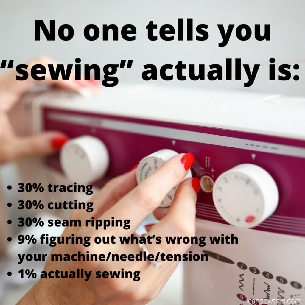 what sewing actually is